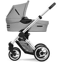 Классическая коляска люлька Mutsy Evo Bold Pebble Grey, Grey Standart