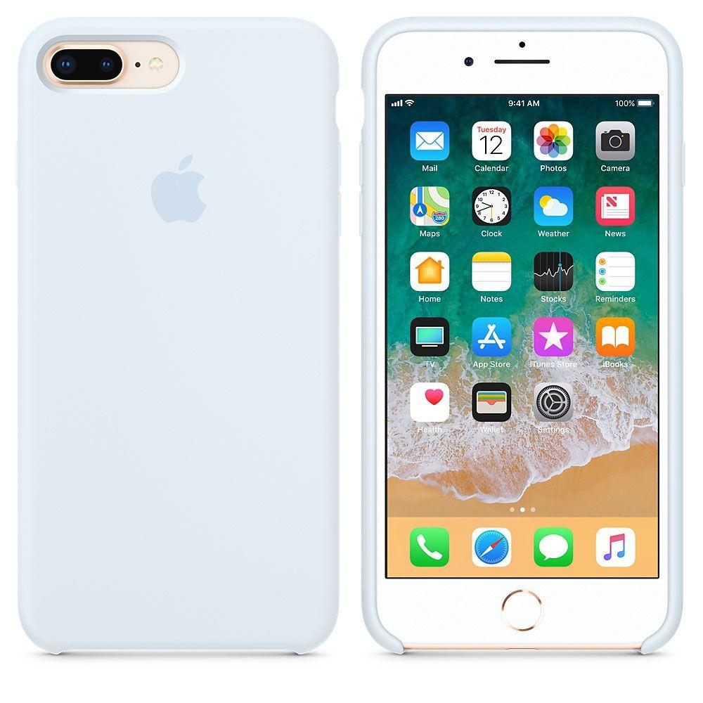"Apple silicon case iPhone 7 Plus/iPhone 8 Plus"" Sky Blue"""