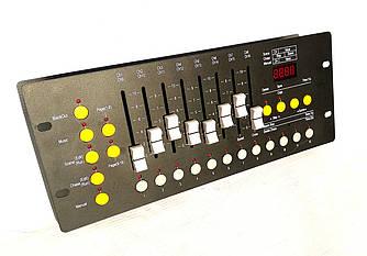 Пульт для управления световыми приборами и генераторами спец эффектов dmx 192