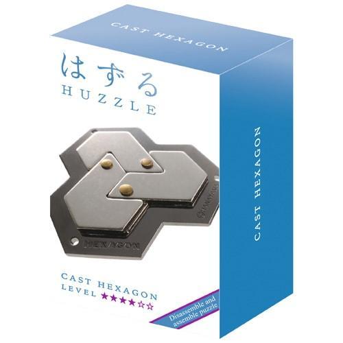 Металлическая головоломка | Huzzle Hexagon | 4* | Hanayama (Japan)