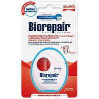 Зубная нить Biorepair Избавление чувствительности с гидроксиапатитом и цинком РСА 30 м
