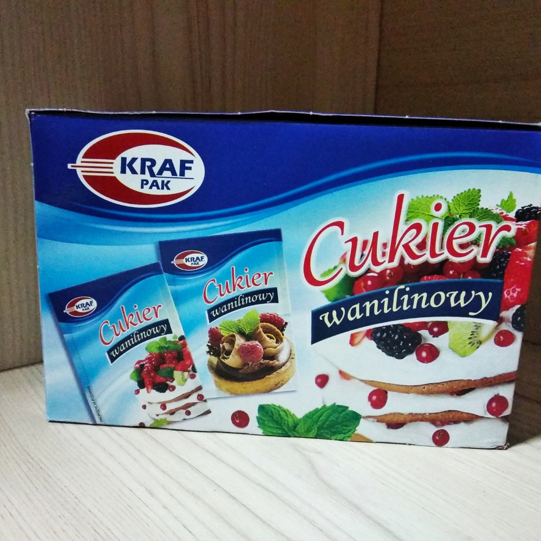 KRAF PAK ванільний цукор 16 гр. х 30 шт.