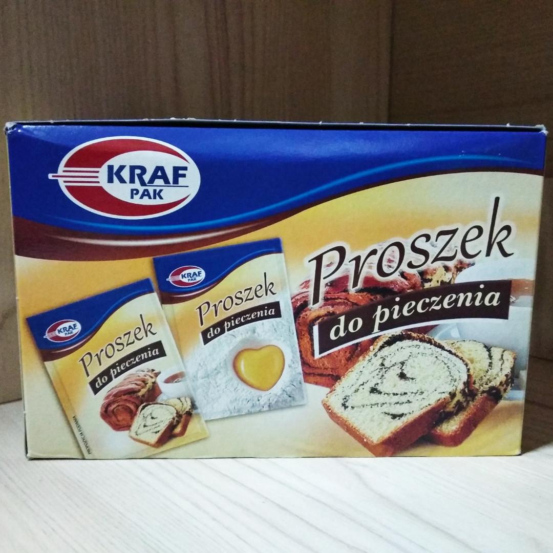 KRAF PAK розпушувач тіста 30 шт.