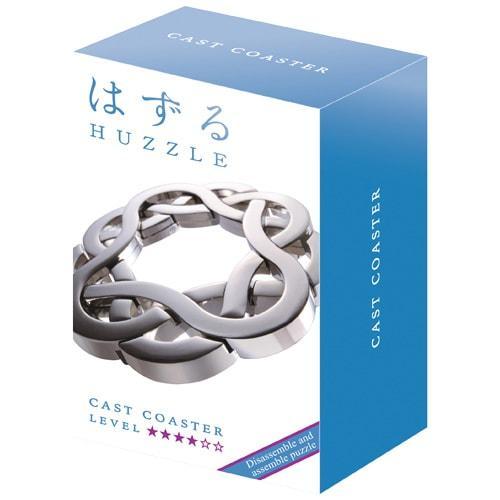 Huzzle Coaster 4* Металлическая головоломка Подставка КостерHanayama (Japan)