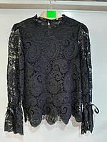 """Блузка женская нарядная гипюровая, размер 42-46 """"MONRO"""" недорого от прямого поставщика"""