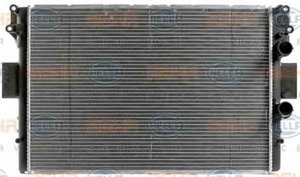 Радиатор охлаждения  IVECO DAILY  35C-S11 50C11  (022-017-0001/504008108)