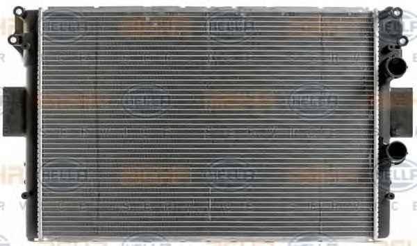 Радиатор охлаждения  IVECO DAILY  35C-S11 50C11  (022-017-0001/504008108), фото 2
