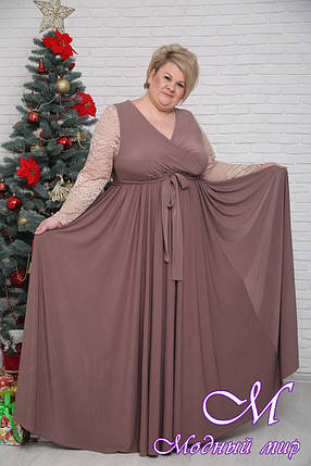 Шикарное женское платье большие размеры (р. 42-90) арт. Мечта, фото 2