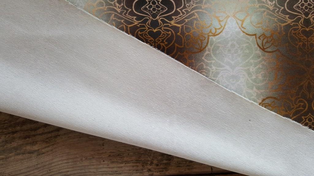 Ткань мебельная обивочная велюр Эбру модель 1