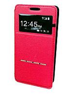 Чехол для Samsung Galaxy S6 View Cover красный с магнитной полоской