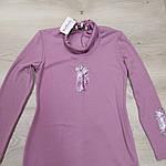 Гольф розовый тёплый туника 48,50,52, фото 2
