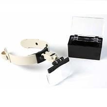 Бинокуляр Magnifier 81002 LED 1.2x 1.8x 2.5x 3.5x