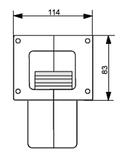 Нагнітальний вентилятор KG Elektronik DPA-120 ALU (Польща), фото 5