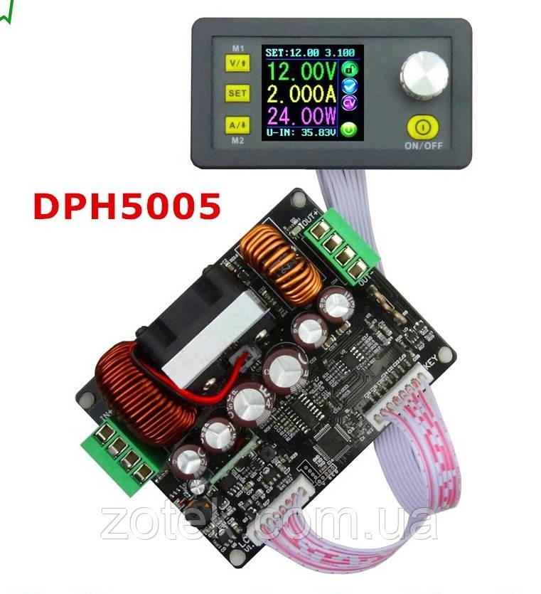 DPH5005 0-50V 0-5A 250Вт Лабораторный Повышающий - Понижающий блок модуль питания с цифровым управлением RIDEN
