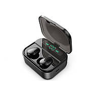 Беспроводные Bluetooth наушники с зарядным футляром Air Pro X7-TWS Черный
