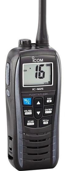Морская радиостанция ICOM IC-M25