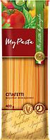 """Макаронные изделия из твердых сортов пшеницы Спагетти 400г ТМ """"My Pasta"""""""