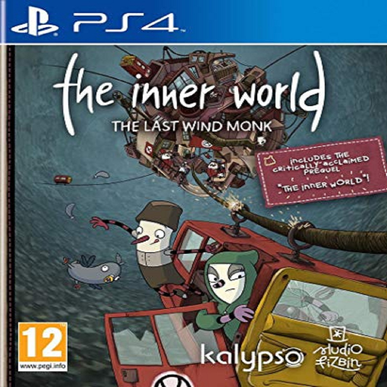 The Inner World: The Last Wind Monk (русские субтитры) PS4