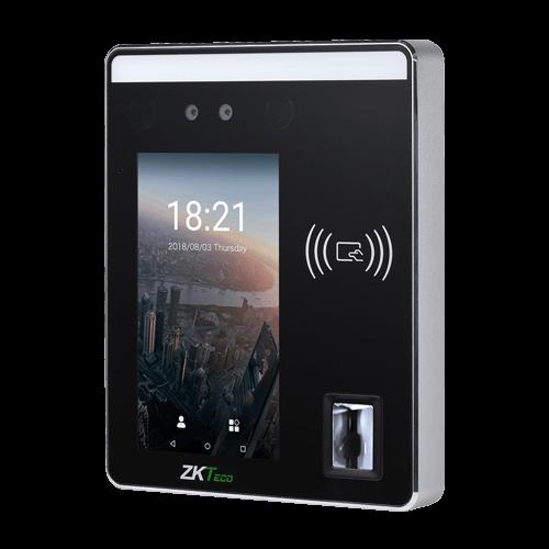 Биометрическая система онлайн распознавания лиц и отпечатков для контроля доступ ZKTeco SpeedFace-H5