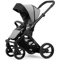 Прогулочная коляска Mutsy Evo Bold Pebble Grey, Black (black wheels)