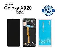 Дисплей + сенсор Samsung A920F Galaxy A9 (2018) Чёрный Оригинал 100% SERVICE PACK GH82-18308A