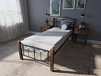 Кровать односпальная металлическая Элизабет Melbi. Ліжко односпальне металеве