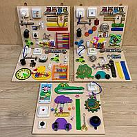 Бизиборд развивающая игра для самых маленьких busy board 35*40 см, фото 6