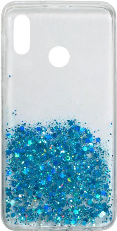 Накладка Xiaomi Redmi7 clear Confetti