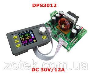 RIDEN DPS3012 0-32V 0-12A 384Вт Лабораторный Понижающий блок модуль питания с цифровым управлением