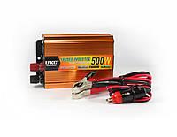 Преобразователь напряжения (инвертор) 24-220V 500W Gold (R0095)