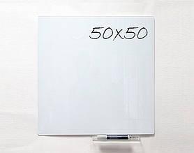 Доска стеклянная магнитная маркерная 50×50 см Тетрис