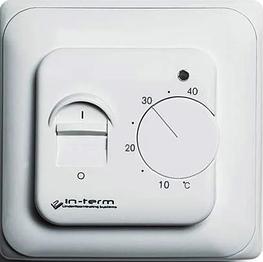 Механический терморегулятор InTerm-MEX для теплых полов