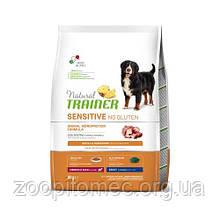 Корм Trainer Sensitive (Трейнер Сенситів) Adult Medium Maxi With Duck для собак середніх та великих порід качка з рисом, 12 кг