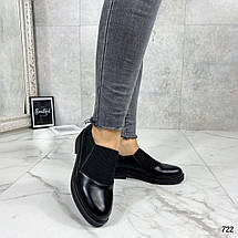 Черные туфли для женщин, фото 2