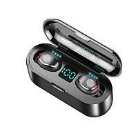 Беспроводные Bluetooth наушники с зарядным кейсом Air Pro TWS Черный