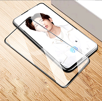 Защитное стекло для Motorola One Hyper черный, фото 1