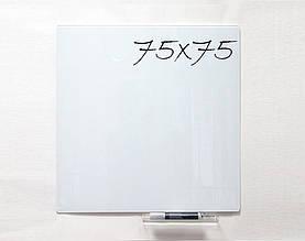 Доска стеклянная магнитная маркерная 75×75 см Тетрис