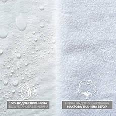 Наматрасник-чехол Евро  200х200х25 см Непромокаемый, фото 3