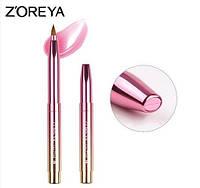 Кисть для макияжа губ выдвижная Zoreya Shine, фото 1