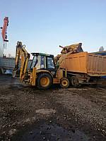 Экскаватор САТ, JCB , бульдозер, самосвал, Киев! Аренда спецтехники. Вывоз строительного мусора. Вывоз грунта.