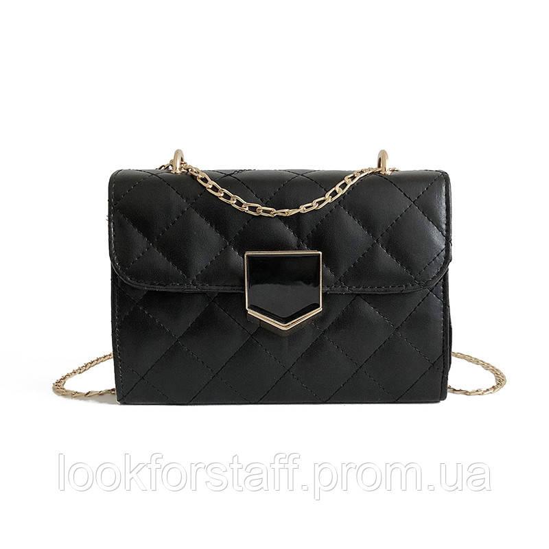 Черная сумка, кроссбоди