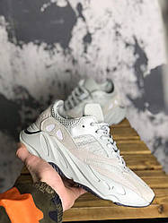 Мужские кроссовки Adidas Yeezy Boost 700 Salt (белые)