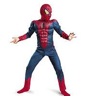 Костюм Человек паук с мышцами ABC (М 115-128 см) ОБЪЕМНЫЙ