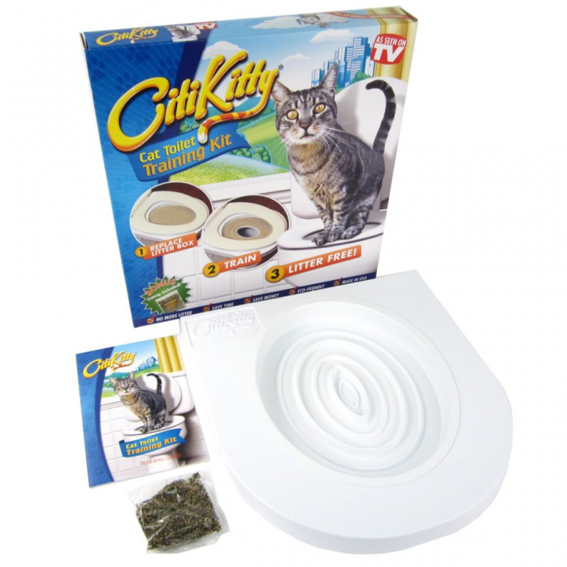Набір для приучення кішки до унітазу CitiKitty туалет для кота (pr000025-А27)