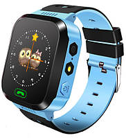 Детские наручные умные часы Smart watch F3 смарт вотч часы телефон Gps трекер.