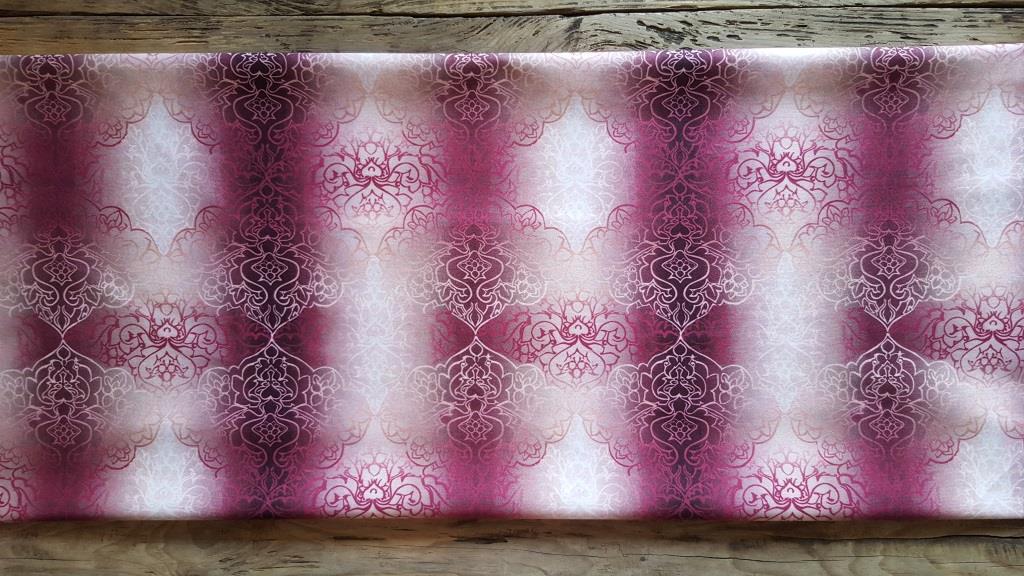 Ткань мебельная обивочная велюр Эбру модель 3