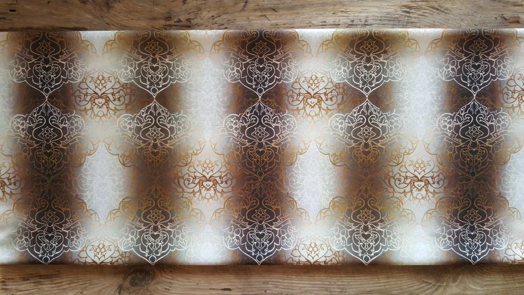 Ткань мебельная обивочная велюр Эбру модель 4