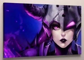 Картина на холсте 60х40 League Of Legends