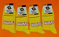 Носки Rock'n'socks Marvell жёлтый