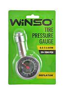Автомобильный манометр для шин Winso металлический 7.5 атм (143200)